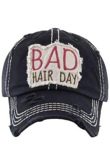 Baseball Hats for Women Bad Hair Day Hat