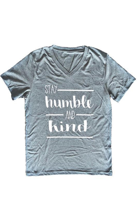 Stay Humble and Kind T-Shirt - - - Graphic T-Shirts - Snips and Snails Boutique