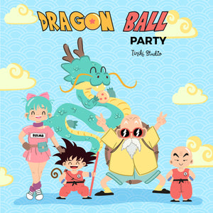 KIT IMPRIMIBLE DRAGON BALL - TINIKI STUDIO