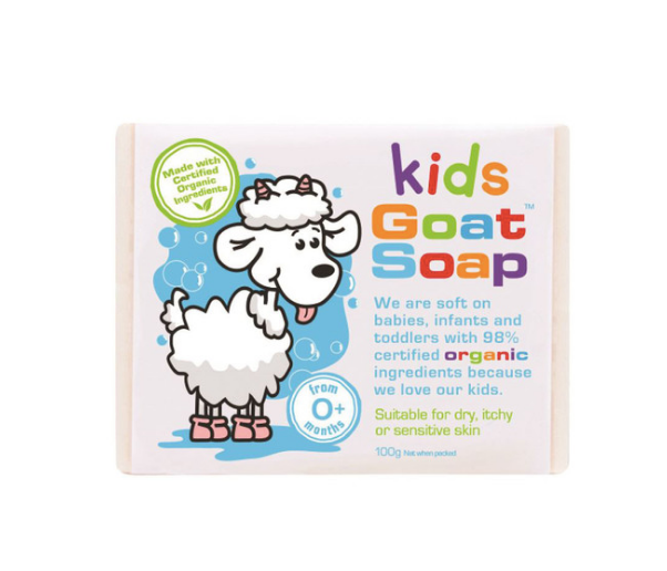 Kids Organic Goat Soap