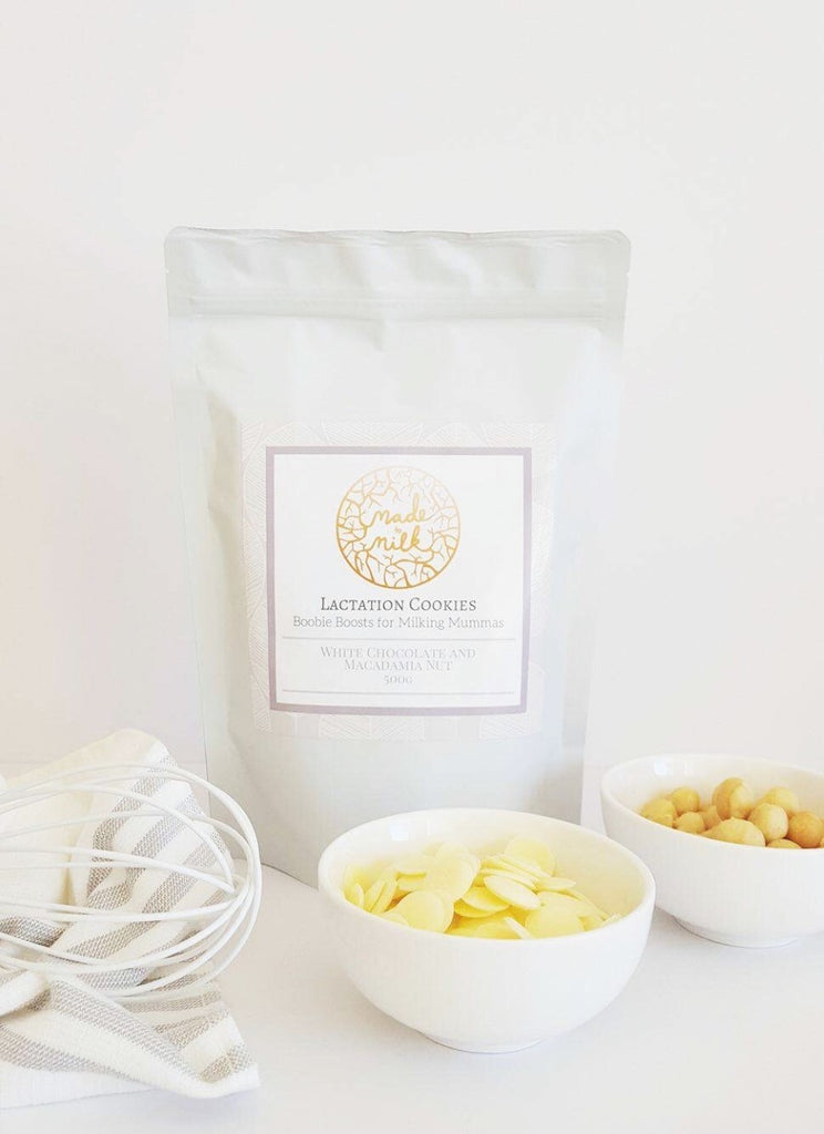 Lactation Cookie Mix - White Choc and Macadamia