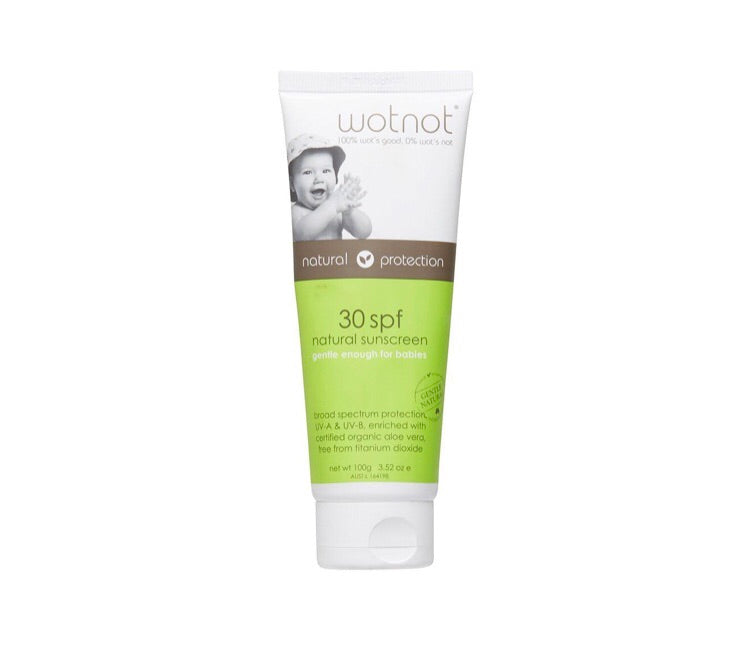 Natural Baby Sunscreen SPF30