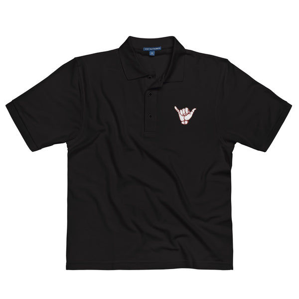 Hand Logo Polo Black