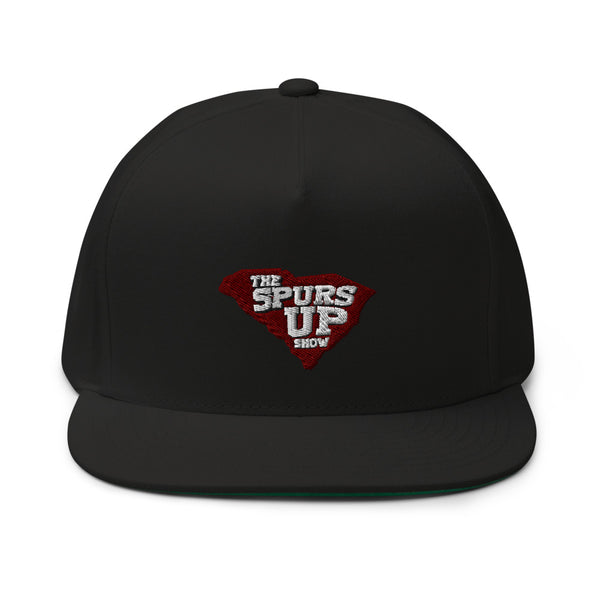 Main Logo Flat Bill Cap