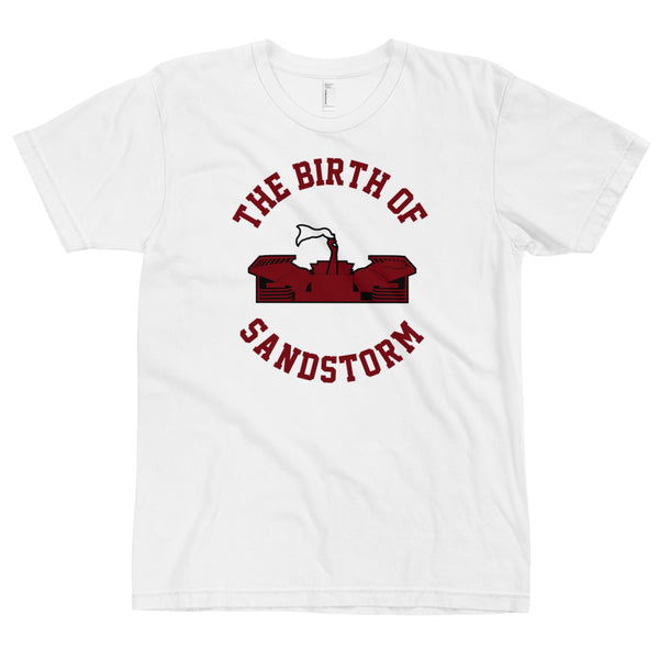 The Birth Of Sandstorm White T-Shirt