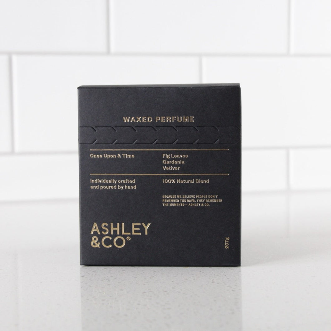 Ashely & co - Once Upon & Time waxed perfume