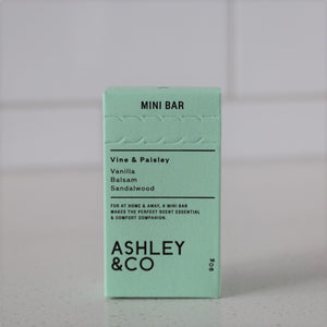 Ashely & co - Vine & Paisley Mini Bar