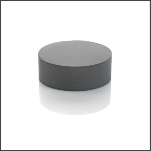 As-Fired Silicon Nitride Disk, 28mm, Tall