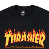THRASHER FLAME TEE L/S