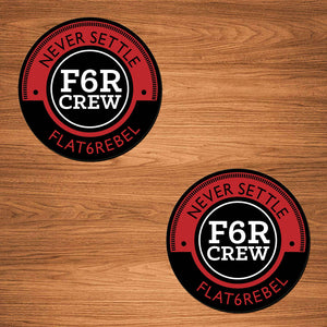 F6R Crew Decal Set