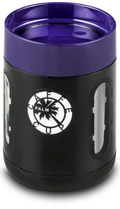 Palm Caffe Cup - Black/Purple