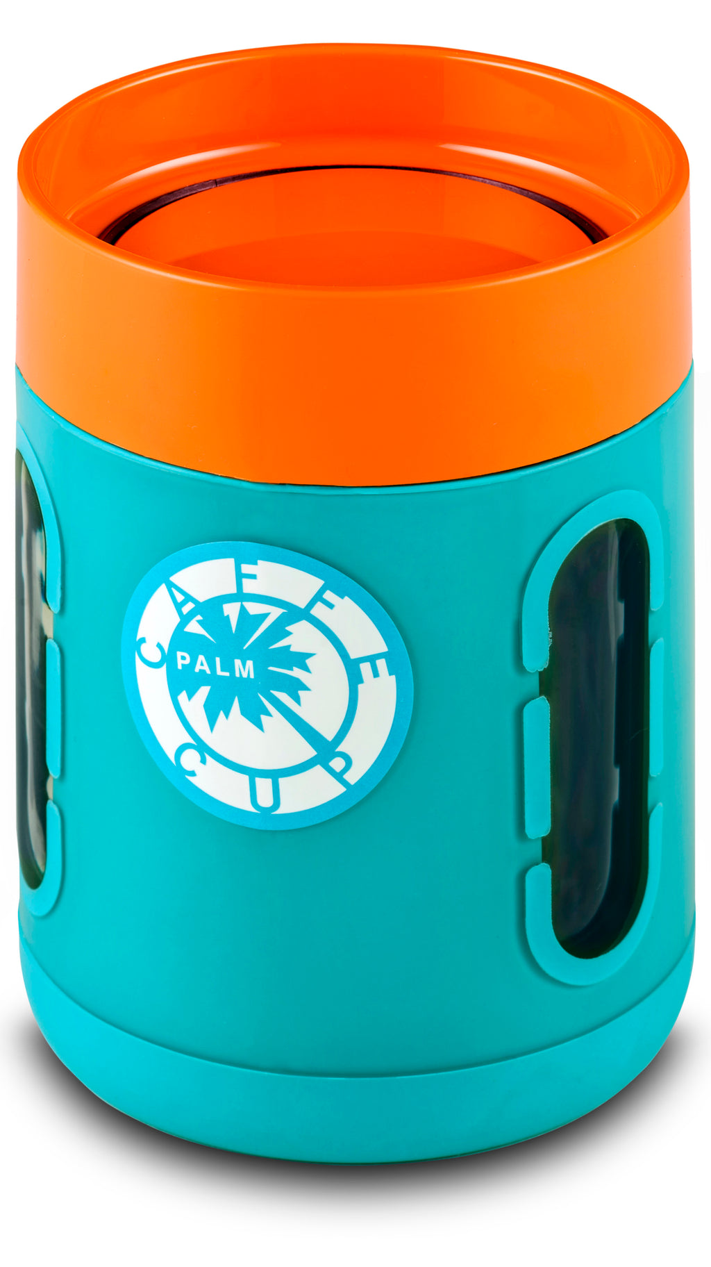 Palm Caffe Cup - Blue/Orange