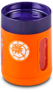 Palm Caffe Cup - Orange/Purple
