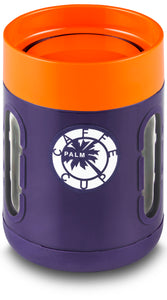 Palm Caffe Cup - Purple/Orange