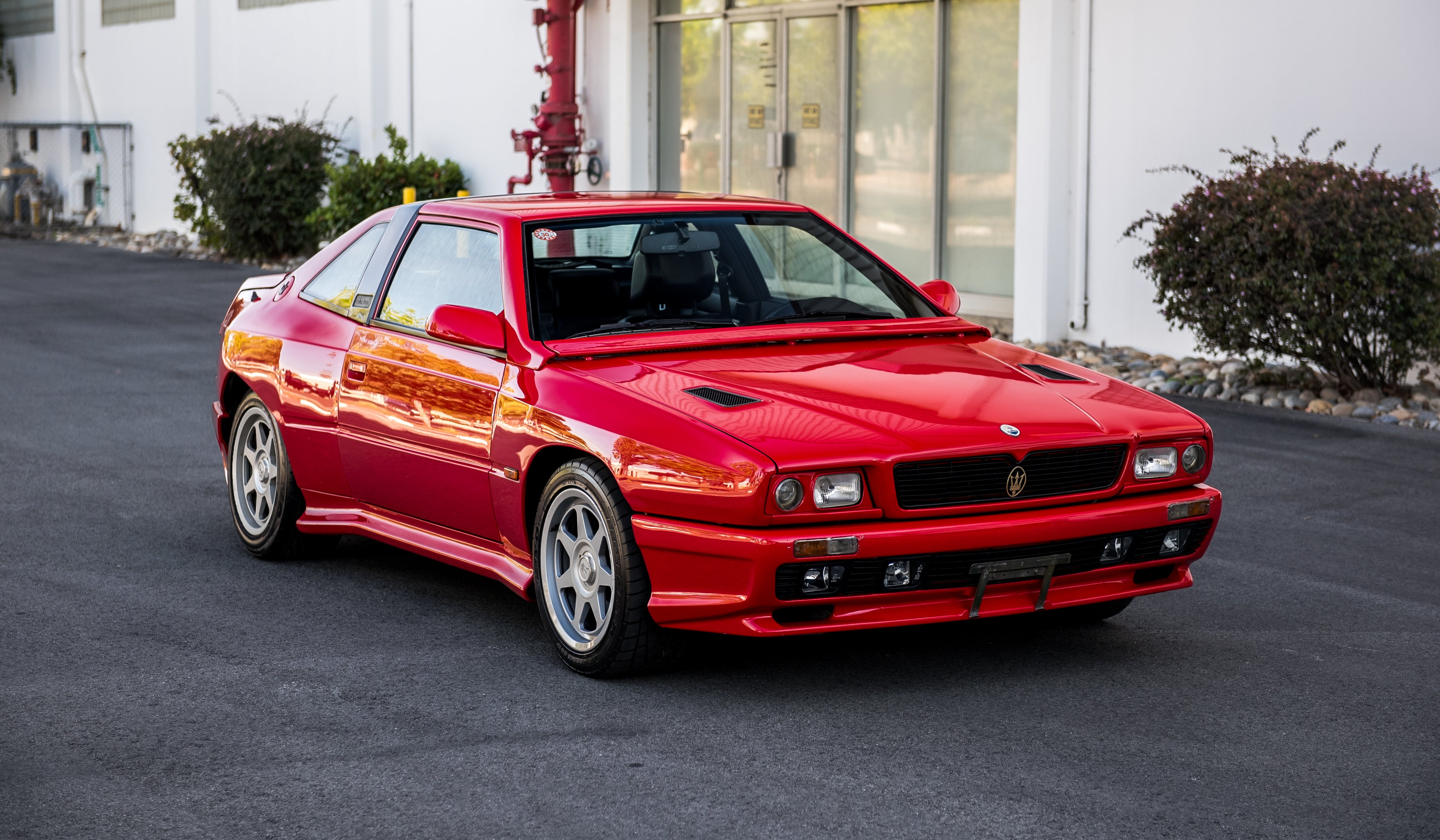 The Maserati Shamal is A Whirlwind of a Car