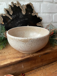 Stoneware Simple Serving bowl
