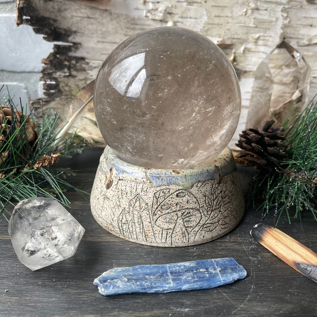Crystal Sphere Holder No. 1