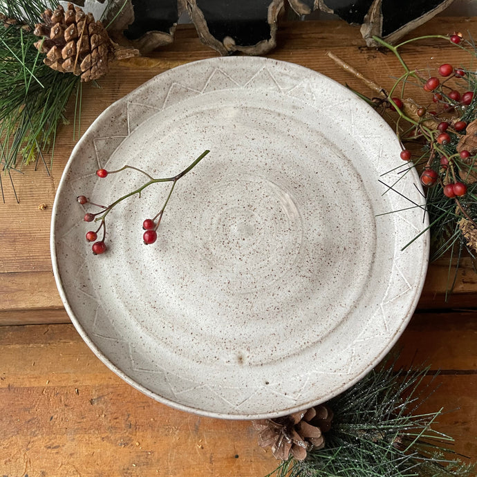 Simple Serving Plate