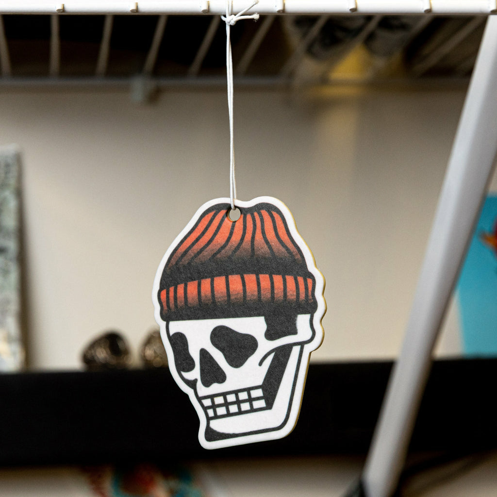 Toque Skull Air Freshener