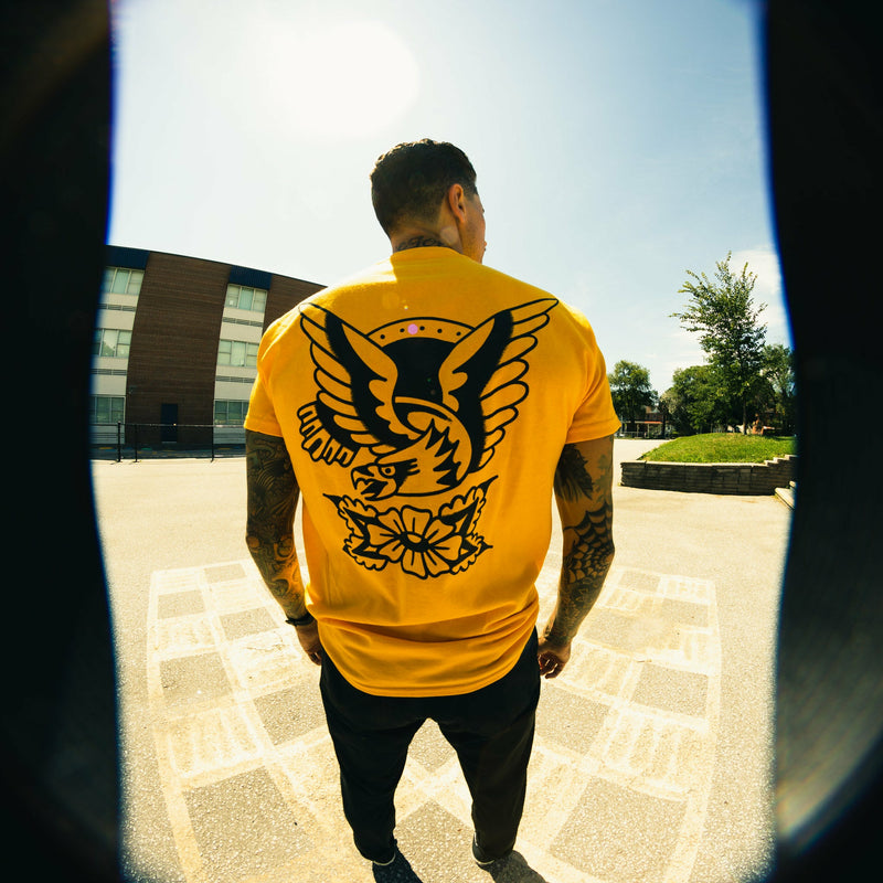 Golden Eagle Tee - Gold