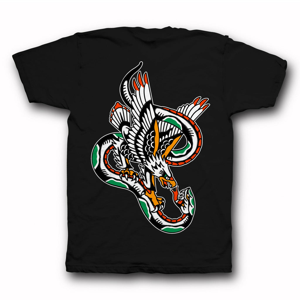 Eagle vs Snake Tee - Indestructible MFG