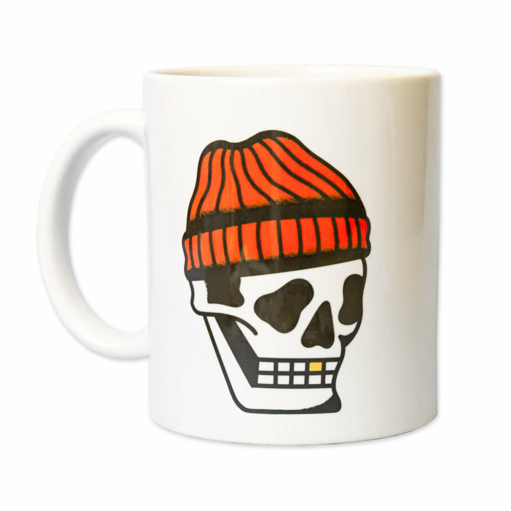 Toque Skull Ceramic Mug