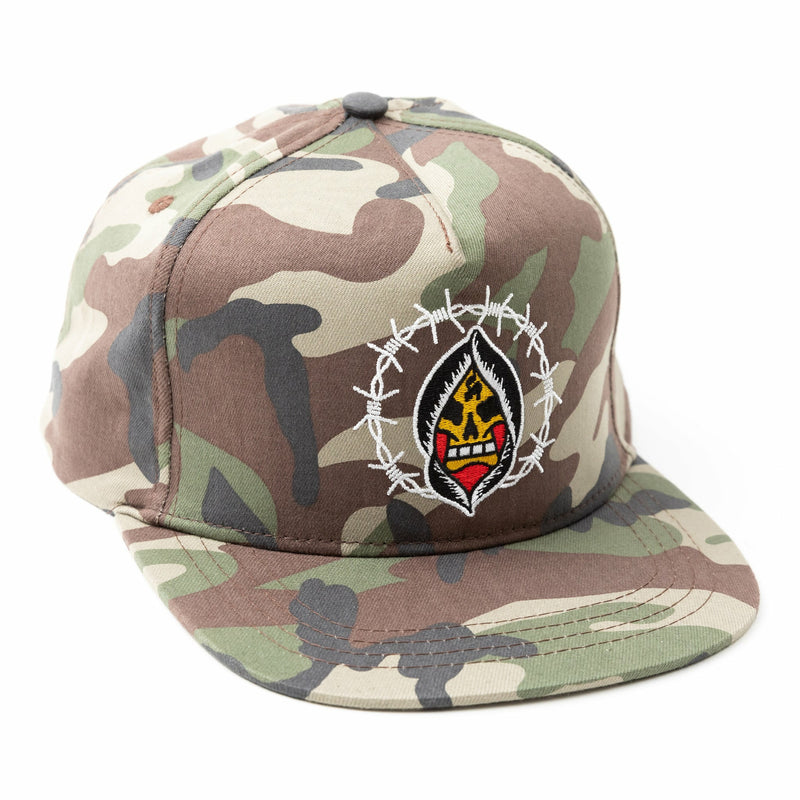 Death In Flames Snapback
