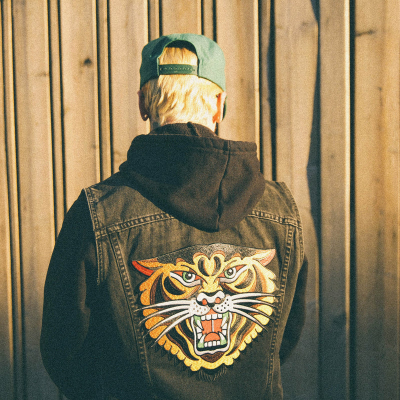 Tiger Back Patch - Indestructible MFG