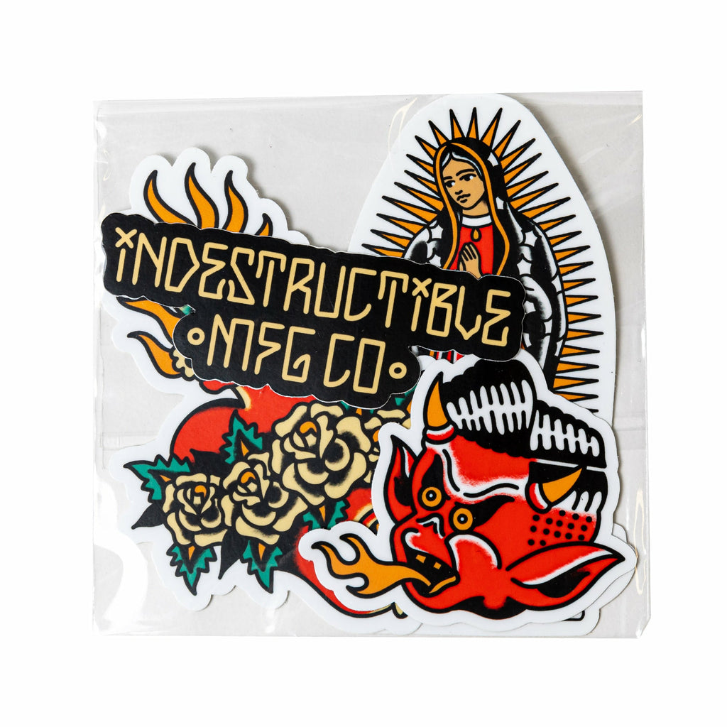 California Sticker Pack - Indestructible MFG