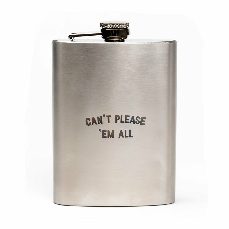 Can't Please 'Em All Flask