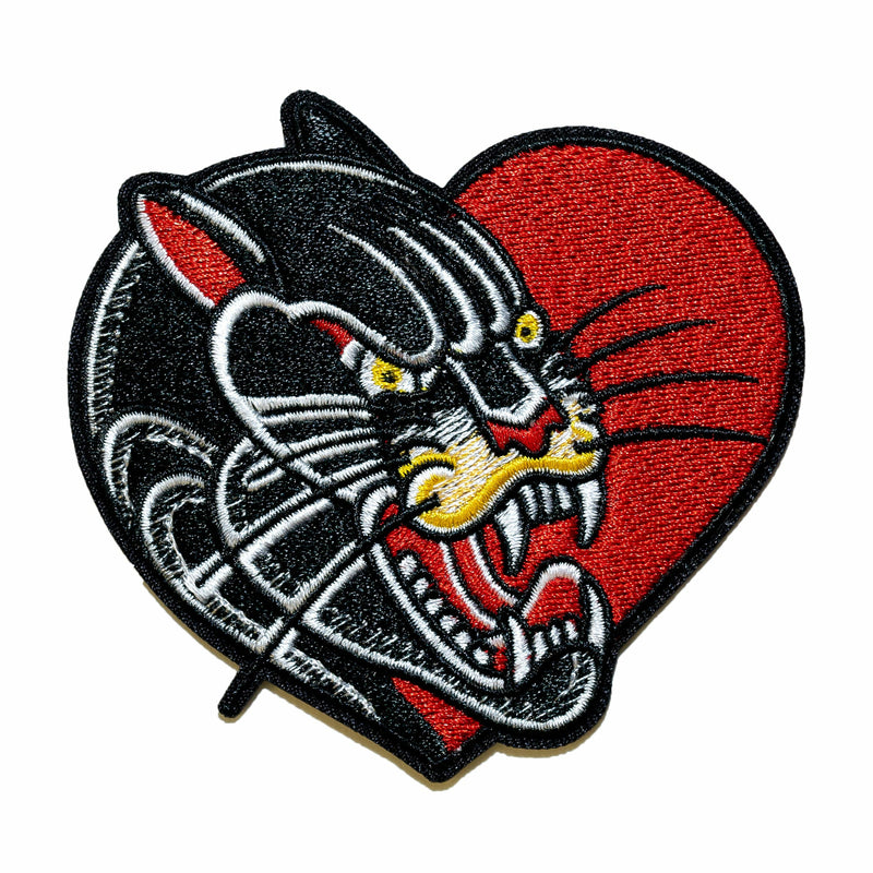 S.G.Harrington 'Love Panther' Patch - Indestructible MFG