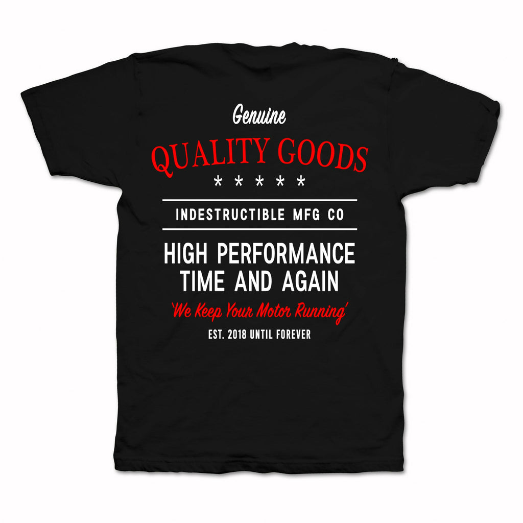 High Performance Tee - Black