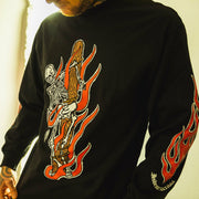 Burning Bones Long Sleeve