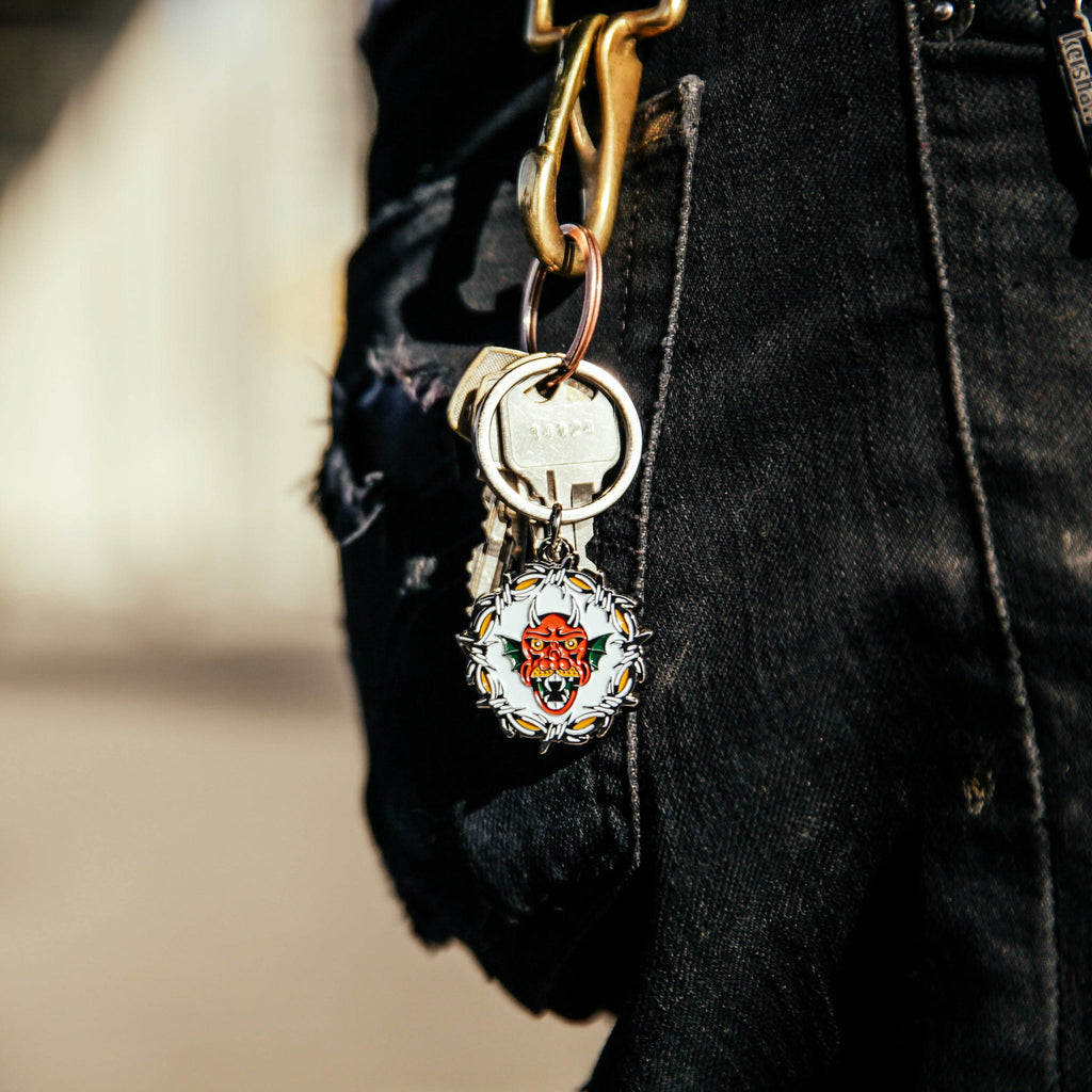 Devil Rider Keychain - Indestructible MFG