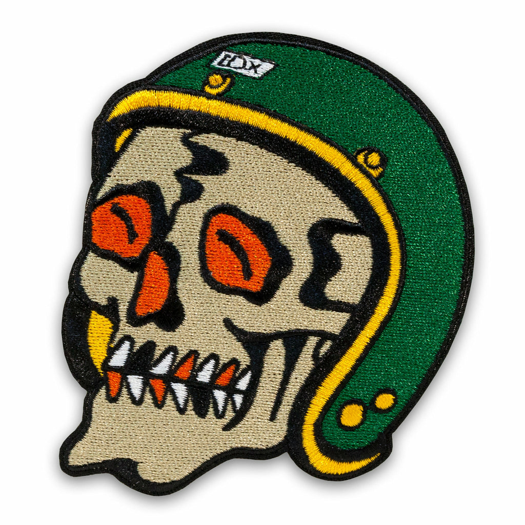 Moto Skull Patch v2.0 - Indestructible MFG