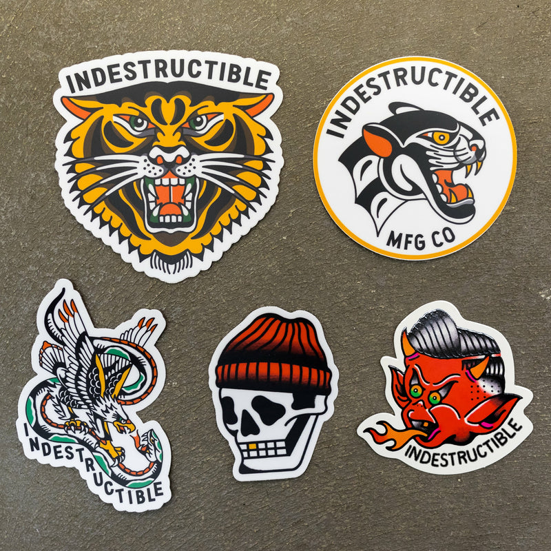 Sticker Pack v2.0 - Indestructible MFG
