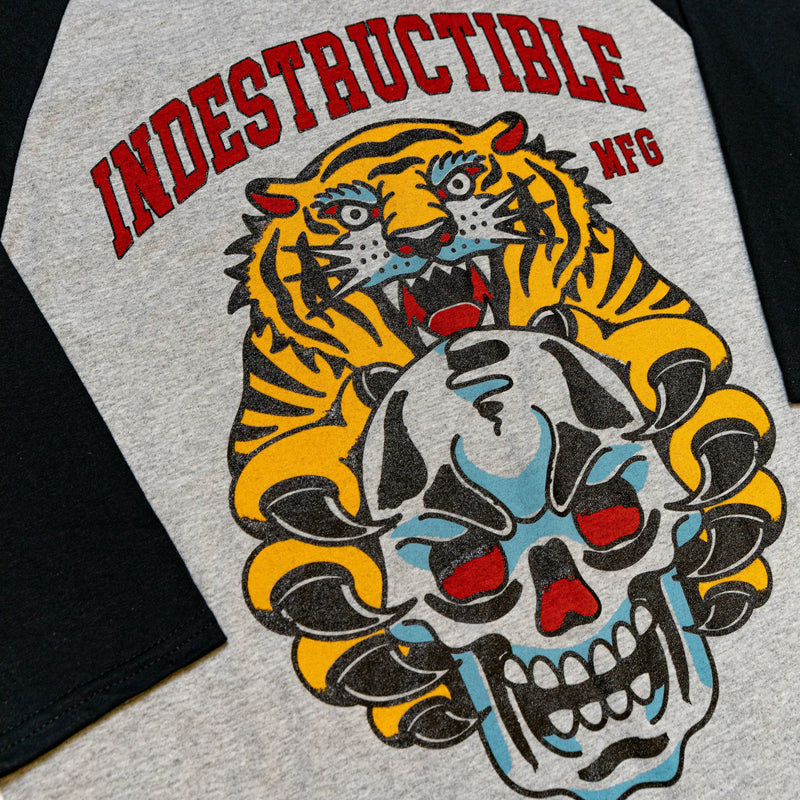 Team Tigers Baseball Tee - Indestructible MFG