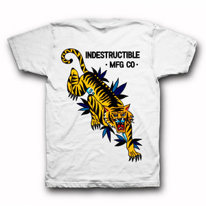 Piew Choquette 'Crawling Tiger' Tee - Indestructible MFG