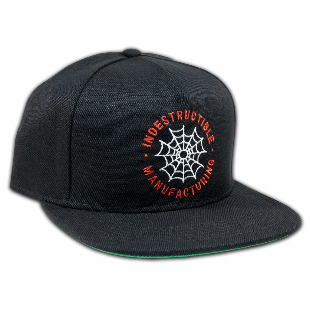 Web Logo Snapback - Indestructible MFG