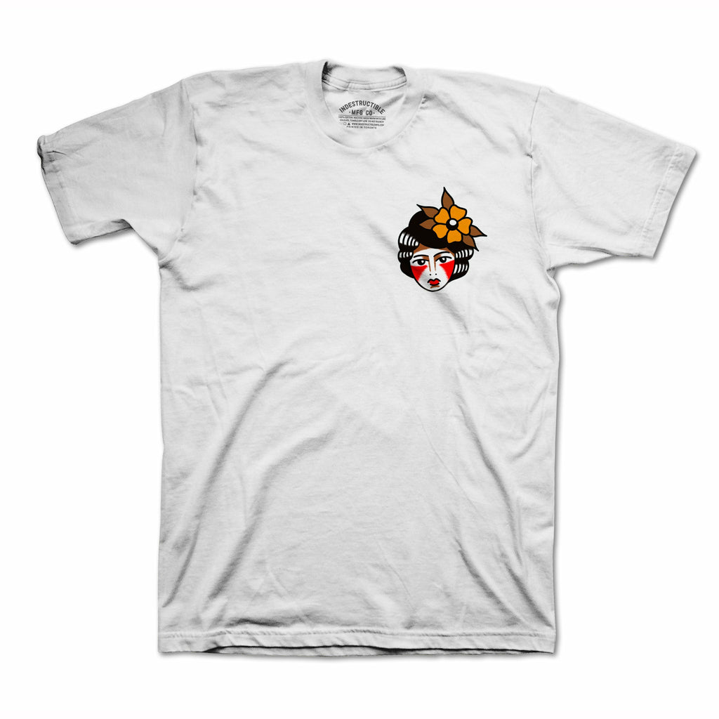 The Wolf Keeper Tee - White