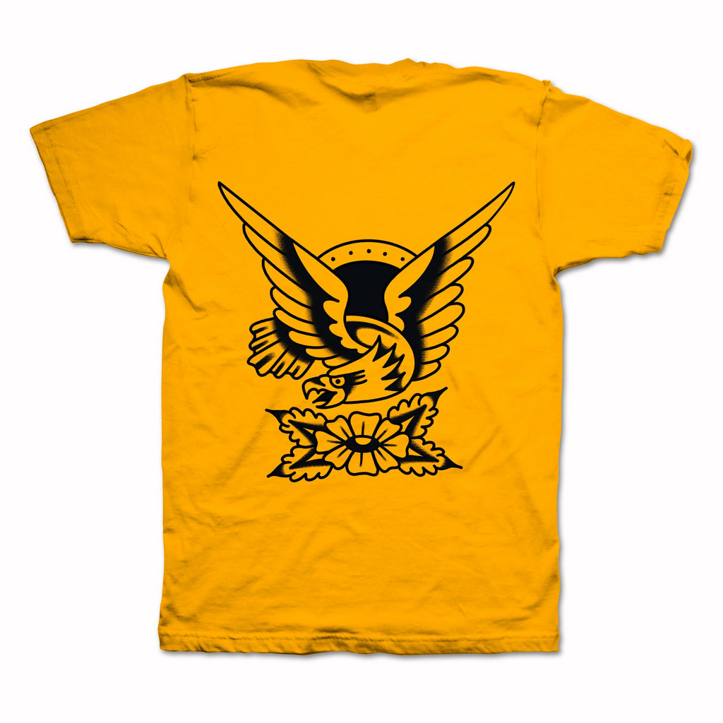 Golden Eagle Tee - Gold - Indestructible MFG