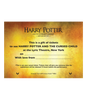 Harry Potter and the Cursed Child Ticket Gift Box