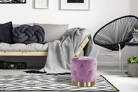 Design-Hocker Hocker Giano 237 Lila Ambiente