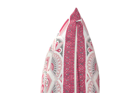 Design-Kissen Dekokissen Evelyn 137 Multi / Rosa 45cm x 45cm Makro