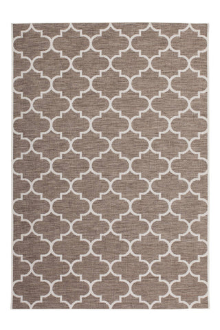 Indoor- / Outdoor-Teppich Neverland 641 Beige Draufsicht