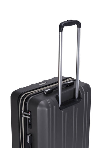 Reisekofferset Koffer Boston 137 3er-Set Grau / Silber Makro