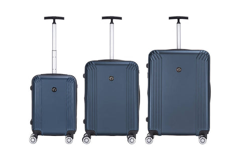 Reisekofferset Koffer Boston 337 3er-Set Blau Ambiente