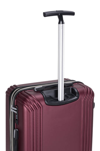 Reisekofferset Koffer Boston 337 3er-Set Bordeaux Makro