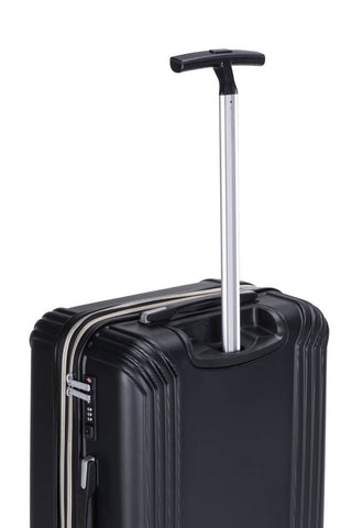 Reisekofferset Koffer Boston 337 3er-Set Schwarz Makro