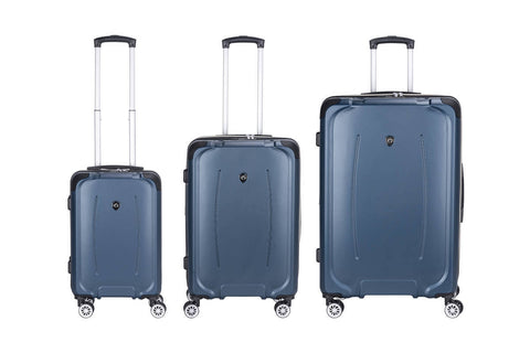 Reisekofferset Koffer Boston 537 3er-Set Blau Ambiente